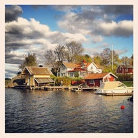 Photo taken at Ångbåtsbryggan Vaxholm by Wouter V. on 10/13/2012