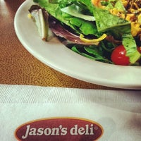 Photo taken at Jason's Deli by Santiago D. on 3/27/2014