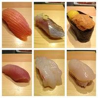 Photo taken at Tanoshi Sushi by KaHee on 6/20/2013
