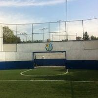 Photo taken at CJU Soccer 5 by Danny V. on 1/18/2013