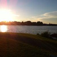 Photo taken at Parc Goyette by Steve T. on 8/2/2013