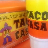 Photo taken at Taco Casa by Taryn S. on 2/10/2013