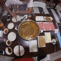 Photo taken at La Mei Zi Restaurant (辣妹子火锅) by Ar Enn on 7/31/2015