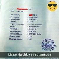 Photo taken at Nişantaşı üniversitesi Sağlık Bilimleri Fakültesi by Ercan A. on 7/26/2016