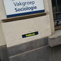 Photo taken at Vakgroep Sociologie by Lenzo R. on 3/7/2013