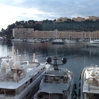 Photo taken at Port Palace Hotel Monte Carlo by Ender C. on 10/8/2013
