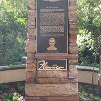 Photo taken at Bugsy Siegel Memorial by Holly W. on 10/24/2013