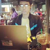 Photo taken at Starbucks Coffee by Raph E. on 4/12/2014