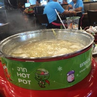 Photo taken at Hot Pot Inter Buffet by เอิ น. on 7/29/2015