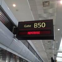 Photo taken at Gate B50 by Tim J. on 10/15/2012