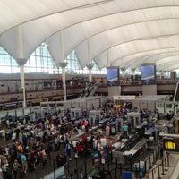 Photo taken at Denver International Airport (DEN) by Tim J. on 6/8/2013