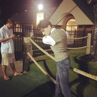 Photo taken at Heartland Golf Park by Zachary O. on 8/31/2014