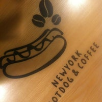 Photo taken at NewYork Hotdog&Coffee by Yoonseok H. on 11/14/2012