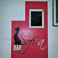 Photo taken at Sofi'a Bar by Martin H. on 5/15/2014