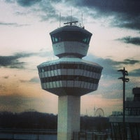 Photo taken at Berlin Tegel Otto Lilienthal Airport (TXL) by Michael K. on 4/11/2013