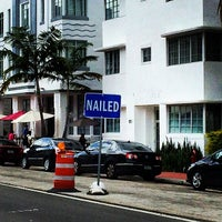 Photo taken at Nailed Miami by Michael K. on 3/27/2014