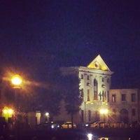 Photo taken at Piazza Della Università by Cinzia T. on 10/19/2013