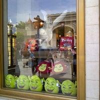 Photo taken at Shrek 4-D Adventure by Christian N. on 7/20/2013