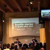 Photo taken at Impact Hub Seattle by Josh H. on 9/7/2017