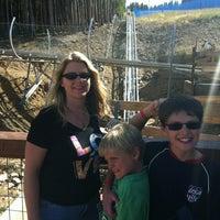 Photo taken at Gold Runner Alpine Coaster by Matt H. on 9/16/2012