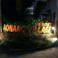 Photo taken at Ao Nang Village Resort by Zaim D. on 12/23/2015