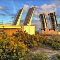 Photo taken at Johns Pass Bridge by Diana L. on 12/5/2012