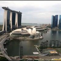 Photo taken at The Ritz-Carlton Millenia Singapore by Shane T. on 5/24/2012