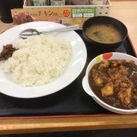 Photo taken at 松屋 江古田店 by Takeshi O. on 6/11/2017