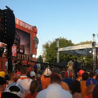 Photo taken at ESPN College GameDay by Chase C. on 9/15/2012