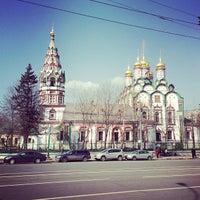 Photo taken at Храм Святителя Николая в Хамовниках by Dmitriy P. on 4/17/2013