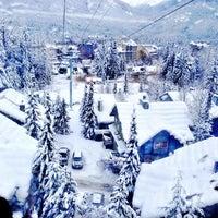 Photo taken at Whistler Village Gondola by April S. on 12/25/2012