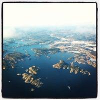 Photo taken at Kristiansand Lufthavn, Kjevik (KRS) by Emile N. on 1/11/2013
