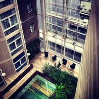 Photo taken at Radisson Blu Royal Garden Hotel by Emile N. on 10/26/2012