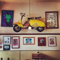 Photo taken at Lambretta's Cafe & Bar by Emile N. on 1/22/2014