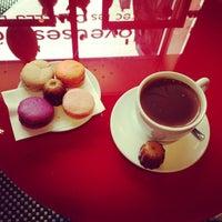 Photo taken at Baillardran Café by Anastasia S. on 5/1/2013