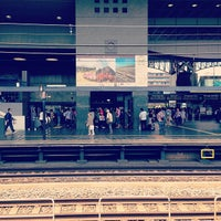 Photo taken at JR 京都駅 8-9-10番ホーム by Johnnie X. on 5/18/2013