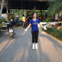 Photo taken at ค่ายเพชรบ้านปืน PhetBanPeun Gym by BiiGZa G. on 2/19/2014