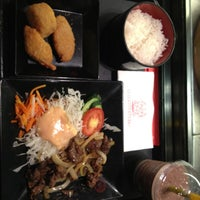 Photo taken at Hoka Hoka Bento by anastasia g. on 12/31/2012