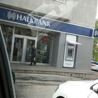 Photo taken at Halkbank by T.c. Irfan E. on 4/12/2016