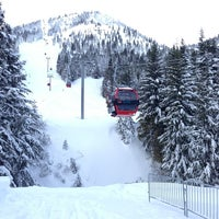 Photo taken at Crystal Mountain Ski Area by Benjamin G. on 12/22/2012
