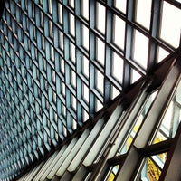 Photo taken at Seattle Central Library by Benjamin G. on 4/19/2013