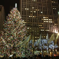 Photo taken at Rockefeller Center Christmas Tree by Don MoukY on 12/28/2012