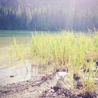 Photo taken at Cheakamus Lake by meru on 6/5/2013