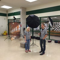 Photo taken at Haines Middle School by Alex C. on 10/26/2015