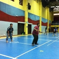 Photo taken at Pusat Sukan UiTM by Fitrie on 1/24/2013