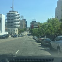 Photo taken at Capitol Records by Curtis T. on 7/11/2017