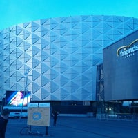 Photo taken at Friends Arena by Jerry D. on 3/8/2014