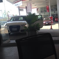 Photo taken at Audi Center by Montse d. on 5/5/2014
