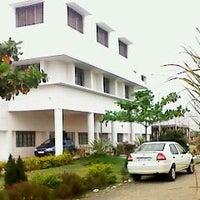 Photo taken at swargiya dadasaheb kadmegh dental college by eshita j. on 9/29/2013