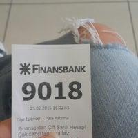 Photo taken at Finansbank Ümraniye Sanayi Subesi by Sevgi on 2/25/2015